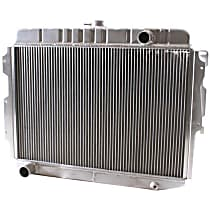 Aluminum Core Aluminum Tank Radiator, 17 x 25.5 x 2.68 in. Core Size