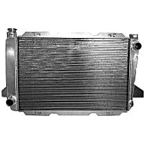 Aluminum Core Aluminum Tank Radiator, 27.5 x 18.48 x 2.68 in. Core Size