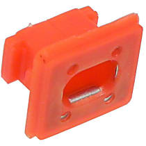 003-80-13747 Bumper Clip - Red, Direct Fit, Sold individually