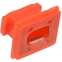Bumper Clip - Red, Direct Fit, Sold individually