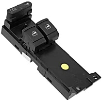 Window Switch Panel - Direct Fit Front, Driver Side