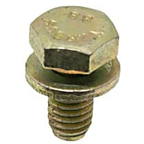 07-11-9-904-517 Hex Head Bolt with Washer 6 X 12 mm (10 mm Hex) (Fully Threaded) - Replaces OE Number 07-11-9-904-517