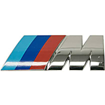 """Emblem """"M"""" for Engine/Coil Cover - Replaces OE Number 11-61-7-831-266"""