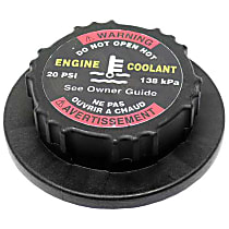 Expansion Tank Cap - Replaces OE Number 163-500-00-06