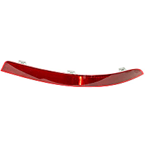 GenuineXL 166-820-04-74 Bumper Cover Reflector - Replaces OE Number 166-820-04-74