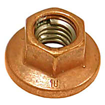 GenuineXL 18-10-7-523-805 Copper Collar Nut (8 mm) - Replaces OE Number 18-10-7-523-805