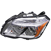 204-820-72-59 Headlight Assembly (Halogen) - Replaces OE Number 204-820-72-59