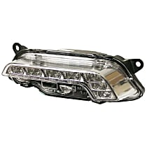 GenuineXL 212-820-07-56 Daytime Running Light (LED) (Black Housing) - Replaces OE Number 212-820-07-56