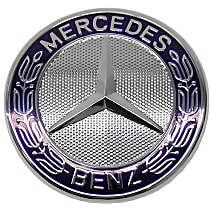 Mercedes Badge on Grille Shell - Replaces OE Number 221-817-00-16