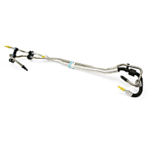 31280399 Power Steering Line Assembly from Rack to Pressure and Return Hoses - Replaces OE Number 31280399