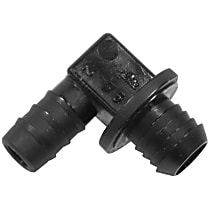 GenuineXL 34-33-1-113-652 Brake Booster Hose Connector 90 deg. Elbow - Replaces OE Number 34-33-1-113-652
