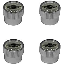 "Wheel Valve Stem Cap Set with ""MINI"" Logo (Set of 4) - Replaces OE Number 36-11-0-429-651"