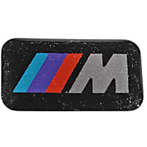"""Wheel Badge Small """"M"""" Stick-On Emblem - Replaces OE Number 36-11-2-228-660"""