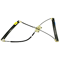 Window Regulator without Motor (Electric) - Replaces OE Number 4F0-837-461 D