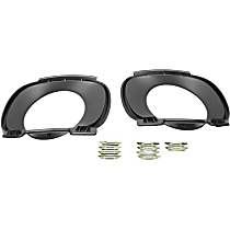 Exhaust Tip Trim Kit for Bumper Cover - Replaces OE Number 51-12-7-154-094