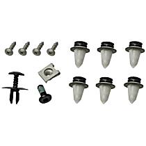 GenuineXL 51-13-2-757-697 Hood Scoop Mounting Kit - Replaces OE Number 51-13-2-757-697