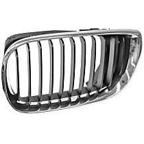 51-13-7-030-545 Grille (Chrome) Frame with Black Grille - Replaces OE Number 51-13-7-030-545
