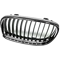 51-13-7-201-967 Grille (Chrome) Frame with Black Grille - Replaces OE Number 51-13-7-201-967