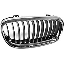 51-13-7-201-968 Grille (Chrome) Frame with Black Grille - Replaces OE Number 51-13-7-201-968