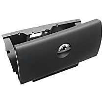 GenuineXL 51-16-6-959-970 Glove Box Lockable without Lock Cylinder (Panther Black) - Replaces OE Number 51-16-6-959-970