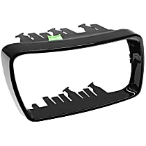 GenuineXL 51-16-7-002-320 Cover Cap Trim Ring for Door Mirror Glossy Black - Replaces OE Number 51-16-7-002-320