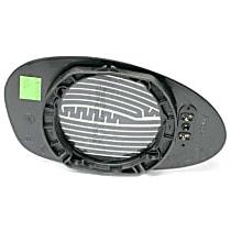GenuineXL 51-16-7-112-585 Door Mirror Glass Heated - Replaces OE Number 51-16-7-112-585
