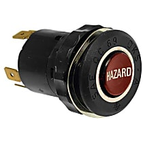 61-31-1-355-358 Hazard Flasher Switch (6 Prong Connector without Resistor) - Replaces OE Number 61-31-1-355-358