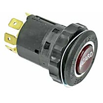 Hazard Flasher Switch (8 Prong Connector with Resistor) - Replaces OE Number 61-31-1-356-193