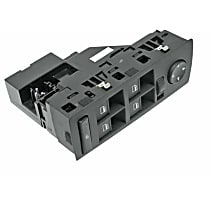 61-31-6-962-505 Window Switch Assembly with Mirror Adjustment - Replaces OE Number 61-31-6-962-505