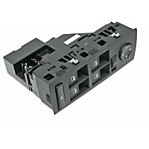 GenuineXL 61-31-6-962-505 Window Switch Assembly with Mirror Adjustment - Replaces OE Number 61-31-6-962-505