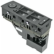 61-31-6-962-506 Window Switch Assembly with Mirror Adjustment - Replaces OE Number 61-31-6-962-506