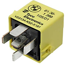 61-36-1-389-105 Multi Purpose Relay (5-Prong) (Yellow) - Replaces OE Number 61-36-1-389-105