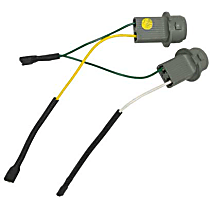 63-21-7-258-417 Bulb Socket Assembly with Wires for Taillight Bulb - Replaces OE Number 63-21-7-258-417