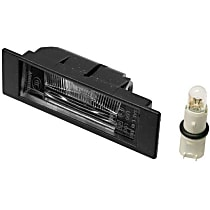 GenuineXL 63-26-7-165-735 License Plate Light - Replaces OE Number 63-26-7-165-735