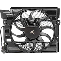 64-54-6-921-395 Auxiliary Fan Assembly with Shroud for A/C Condenser - Replaces OE Number 64-54-6-921-395