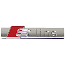 8N0-853-601 A Emblem S-line Trunk/Hatch/Door inscription - Replaces OE Number 8N0-853-601 A