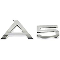 8T0-853-741 2ZZ Emblem A5 Trunk Inscription (Chrome) - Replaces OE Number 8T0-853-741 2ZZ