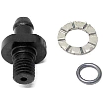 GenuineXL 928-106-443-02 Radiator Fitting for Overflow Hose - Replaces OE Number 928-106-443-02