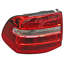 GenuineXL 955-631-487-11 Taillight Assembly with Bulb Holder - Replaces OE Number 955-631-487-11