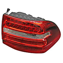 GenuineXL 955-631-488-11 Taillight Assembly with Bulb Holder - Replaces OE Number 955-631-488-11