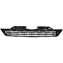 Lower Bumper Grille, Textured Black