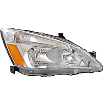 Coupe/Sedan, Passenger Side Headlight, With bulb(s)