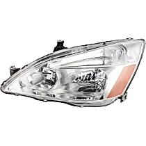 Coupe/Sedan, Driver Side Headlight, With bulb(s)