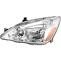 Coupe/Sedan, Driver Side Headlight, With bulb(s)