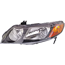 Sedan, Driver Side Headlight, Without bulb(s) - (Except Hybrid Model)