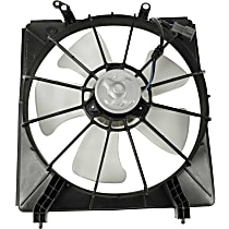 Radiator Fan - Driver Side, 6 Cyl. Engine