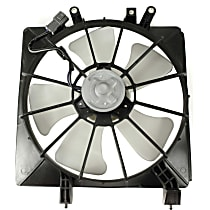 OE Replacement Radiator Fan - Passenger side