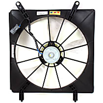 OE Replacement Radiator Fan - Driver Side 2.4L Eng.
