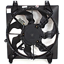 Radiator Fan - Driver Side, 2.7L/3.3L Engine, Without Tow Package