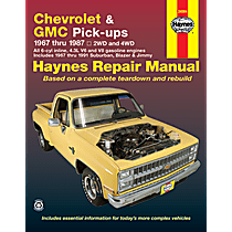 Repair Manual - Repair manual, Sold individually